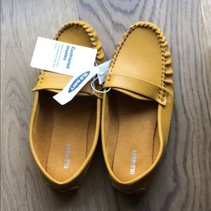 Mustard Yellow Loafers